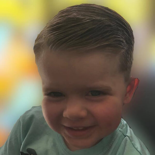kid haircut -enfant coupe de cheveux